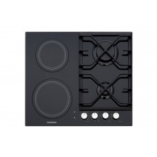 Built-in combined hob INTERLINE TH 6316 BK